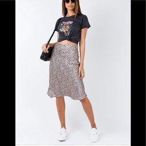 Princess Polly Leopard print skirt